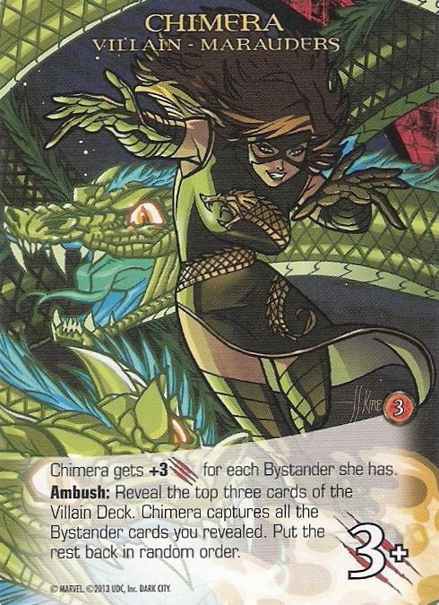 Legendary: A Marvel Deck Building Game – Villain Cards